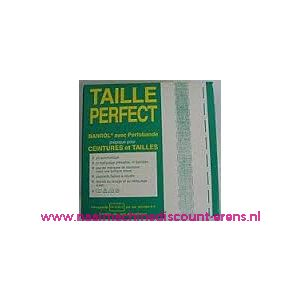 010005 / Taille Perfect vlieseline met extra versteviging 3,5 Cm Wit