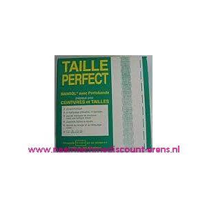 010417 / Taille Perfect vlieseline met extra versteviging 3,5Cm Zwart