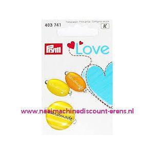 010456 / Prym Love Handmade pins geel/oranje prym art. nr. 403741