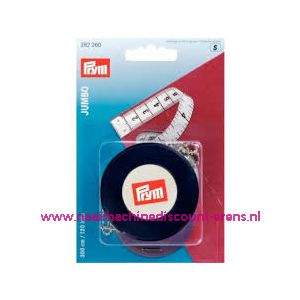 Rolcentimeter Jumbo cm/inch wit 300 cm (120 inch)Prym 282260