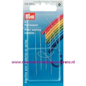 001060 / Parelnaalden Staal No.10/13 Zi/Go-Kl 49X55 Mm art.nr.124350