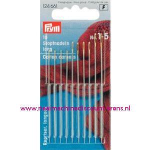 001064 / Stopnaalden Lang Staal No.1-5 Zi/Go-Kl Prym art. nr. 124661