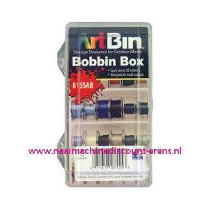 010677 / Spoelendoos Artbin 8155 AB geschikt 30 spoelen