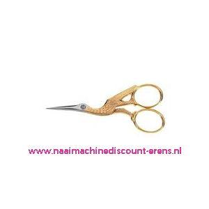 010798 / Ooievaarsschaartje Homeij art. nr.: 4318-09 Cm gesmeed/verni