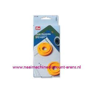 010807 / Fixeergewichten Maxi 70 mm, 2 stuks prym art. nr. 611361