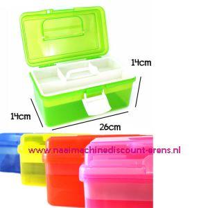 010859 / Naaibox compact colour Rood