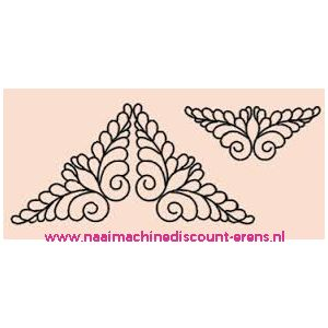 "010968 / Sjablonen ""Vleugels"" prym art. nr. 610109"