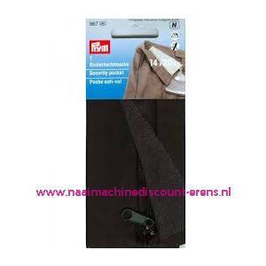 011486 / Veiligheidsbroekzak / tas met ritssluiting prym art. 967181