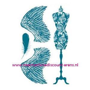 011552 / Stempelserie Fournituren TWO art. nr. 7038.40.14