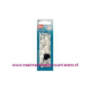 011555 / ColorSnap Bloem 13,6 mm wit Prym art. nr. 393403