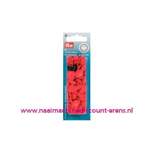 011556 / ColorSnap Bloem 13,6 mm rood Prym art. nr. 393438