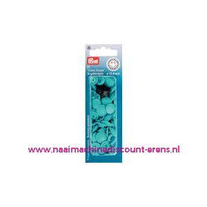011558 / ColorSnap Bloem 13,6 mm turquoise Prym art. nr. 393446