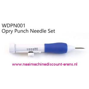 011750 / Hand Punchnaald Set OPRY WD-PN-001
