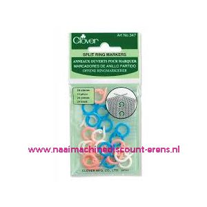 Clover 347 Split ring markers / 011855