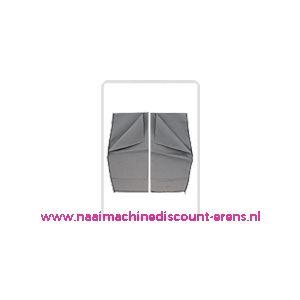 011986 / Broekzakken donker grijs extra groot