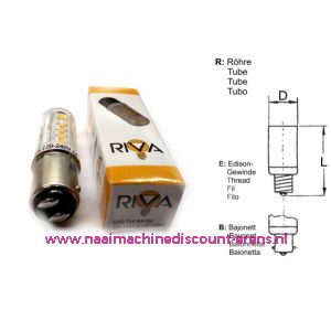 012008 / RIVA LED 220-240V 2.5W BA15d