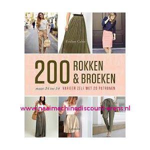 """200 ROKKEN & BROEKEN maat 34 tot 54 """"Evelien Cabie"""""""