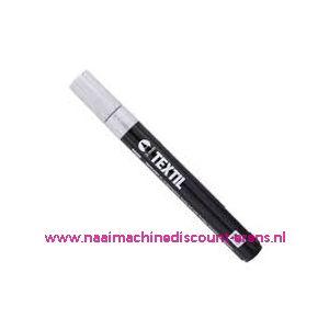 "012272 / Textile Marker Light Fabric White ""RICO"""