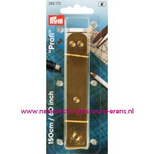 Centimeters Profi Met.plaatje 150Cm 60 Inch prym nr.282175