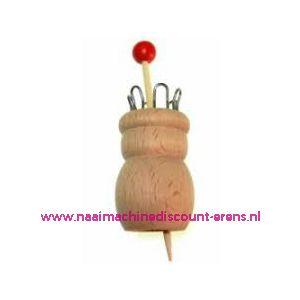 012285 / Rico Punnikpopje - Hout - 6 Haken art.nr. 38001.006
