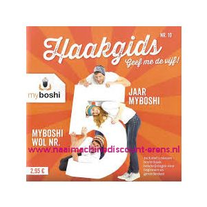 012312 /  Myboshi Haakgids nr 10 - Geef me de vijf!