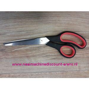 012344 / MEDIAC Stoffen-/ Huishoudschaar Discount 245 Mm rood