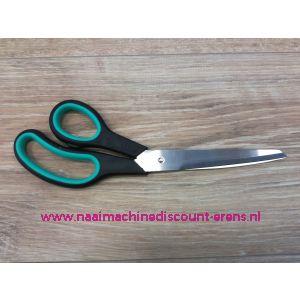 012346 / MEDIAC Stoffen-/ Huishoudschaar Discount 245 Mm groen