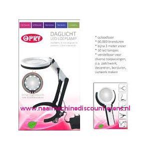 012369 / OPRY Daglicht loeplamp met led verlichting
