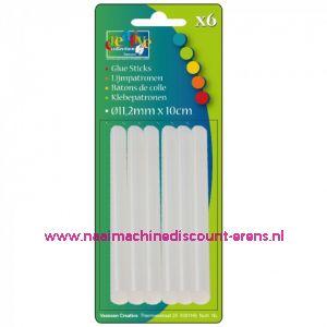 012400 / Lijmpatronen Regular 11.2x100mm 6 stuks