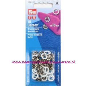 001278 / Navullingen Ms Voor 390111 Tandring Wit 10 Mm nr. 390121