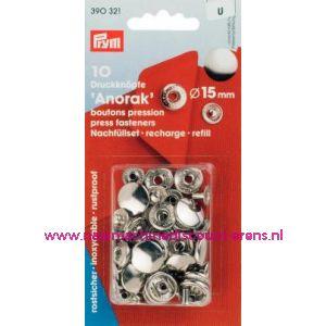 001298 / Navullingen Ms Voor 390301 Zilverkl.15 Mm Prym art.nr.390321