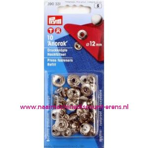 001302 / Navullingen Voor 390330 Zilverkleurig 12 Mm art. nr. 390331