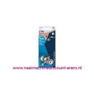 001376 / Tenax-Veiligheidssluiting Ms Zilverkleurig 20 Mm nr. 416495