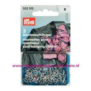 001433 / Mantelhangers zilver Prym art. nr. 552195