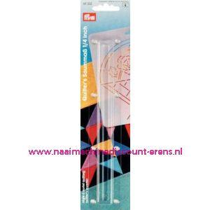 001460 / Quilting Zoomliniaal Kst Transparant Prym art. nr. 611332