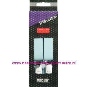 001586 / Men Clips Standaard 110 Cm 25 Mm Lichtblauw art. nr. 944152