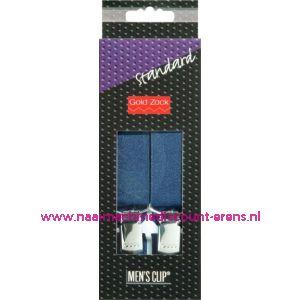 001587 / Men Clips Standaard 110 Cm 25 Mm Marine art. nr. 944157
