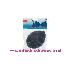 001669 / Bh Inleg-Cups Maat S Zwart Overtrok.100% Polyam.art.nr992336