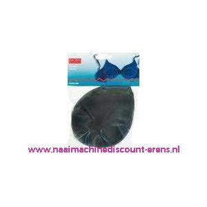 001673 / Bh Inleg-Cups Maat L Zwart Overtrok.100% Polyam.art.nr992346
