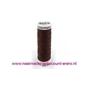 001880 / Gutermann naaigaren 023  (donker bruin)