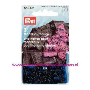 002146 / Mantelhangers zwart Prym art. nr. 552196