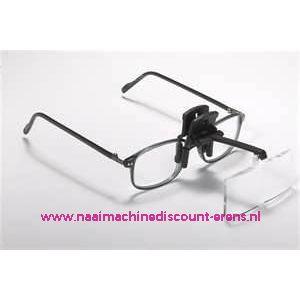 002202 / Daylight clip-on vergrootglazen voor op uw bril