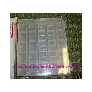 002290 / Sew Mate Spoelendoos voor 25 spoeltjes