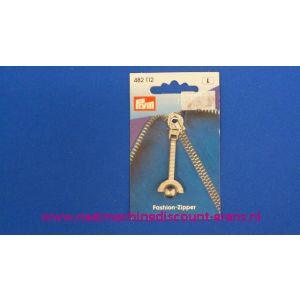 002364 / Fashion Zipper Zilver prym art. nr. 482112