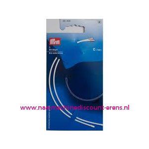 002379 / Bh-Beugel Maat C 100 Wit Goldzack art. nr. 991806