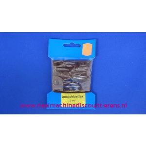 002411 / Elastisch Koord 1,5 Mm Bordeaux Rood Discount