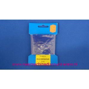002413 / Elastisch Koord 1,5 Mm Kobalt Blauw Discount