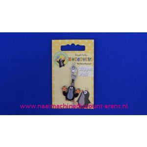 002508 / Der KLEINE MAULWURF zipper pull
