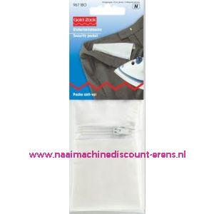 002509 / Veiligheidsbroekzak / tas met ritssluiting prym art. 967180