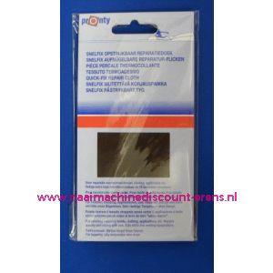 002566 / Reparatiedoek DONKER BRUIN 11 x 25 Cm
